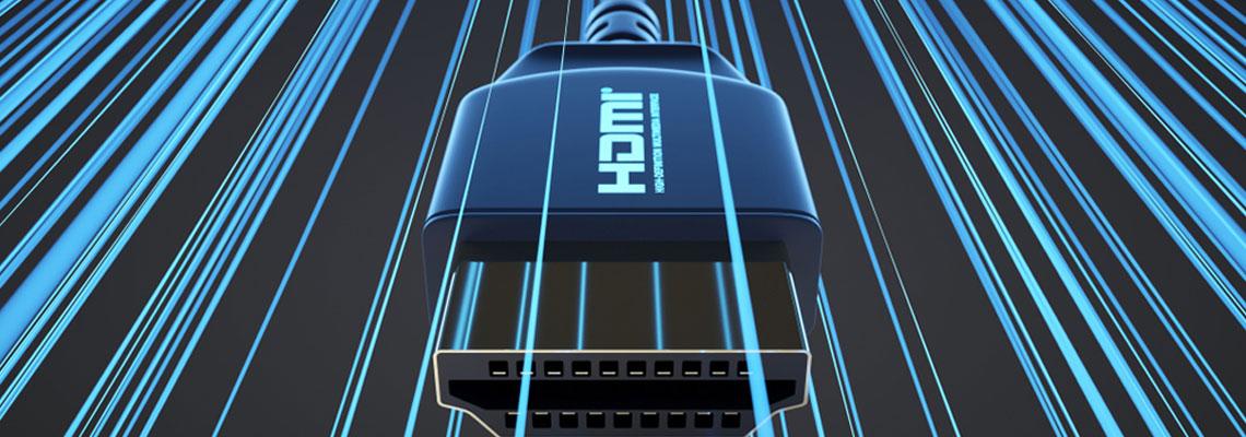 signal HDMI en stéréo
